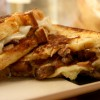 Caramelized Onion and Mushroom Grilled Cheese