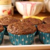 Healthy Chocolate Raspberry Muffins