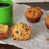 Whole Wheat Bakery Style Chocolate Chip Muffins