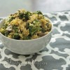 Vegan Broccoli Cheese and Rice Casserole