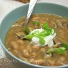 Vegan Bean and Mushroom White Chili