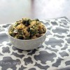 Vegan Cheesy Rice and Broccoli Casserole