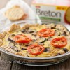 Veggie Quiche with Whole Cracker Crust #Sponsored