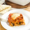 Vegetarian Lasagna with Eggplant Ragu - Guest Post from Flavor the Moments