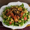 Black Bean Clean-Out-The-Fridge Taco Salad