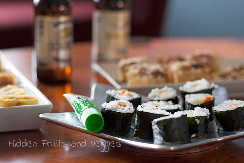 Kirin Beers Paired with Dessert Sushi and Tamago