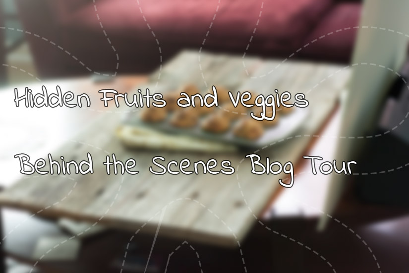 Behind the scenes blog tour @hiddenfruitnveg