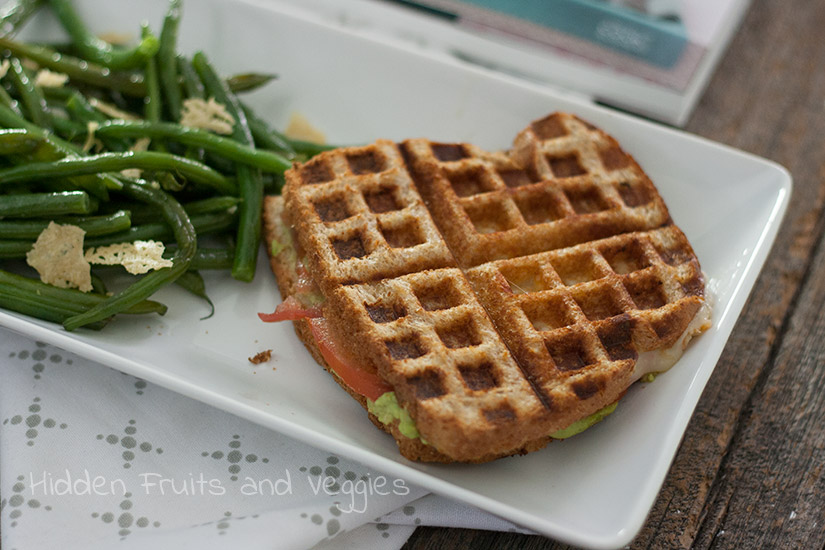 Grilled Avocado Sandwich from @Hiddenfruitnveg